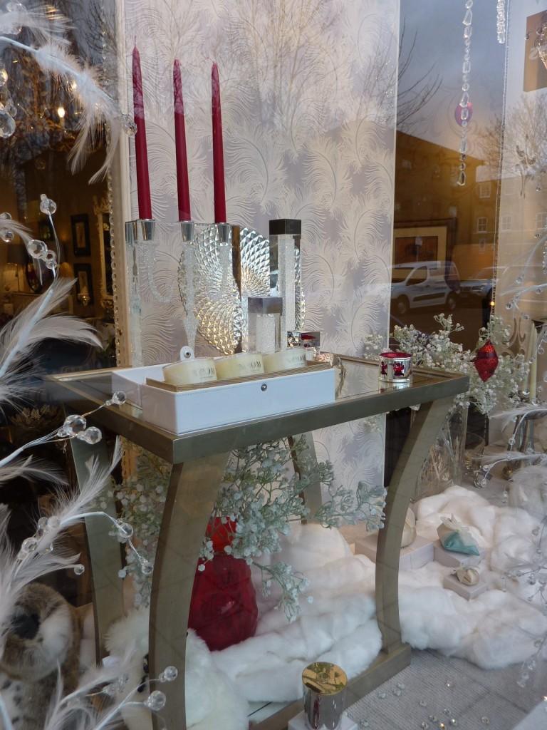 London Showroom - Christmas Window Display
