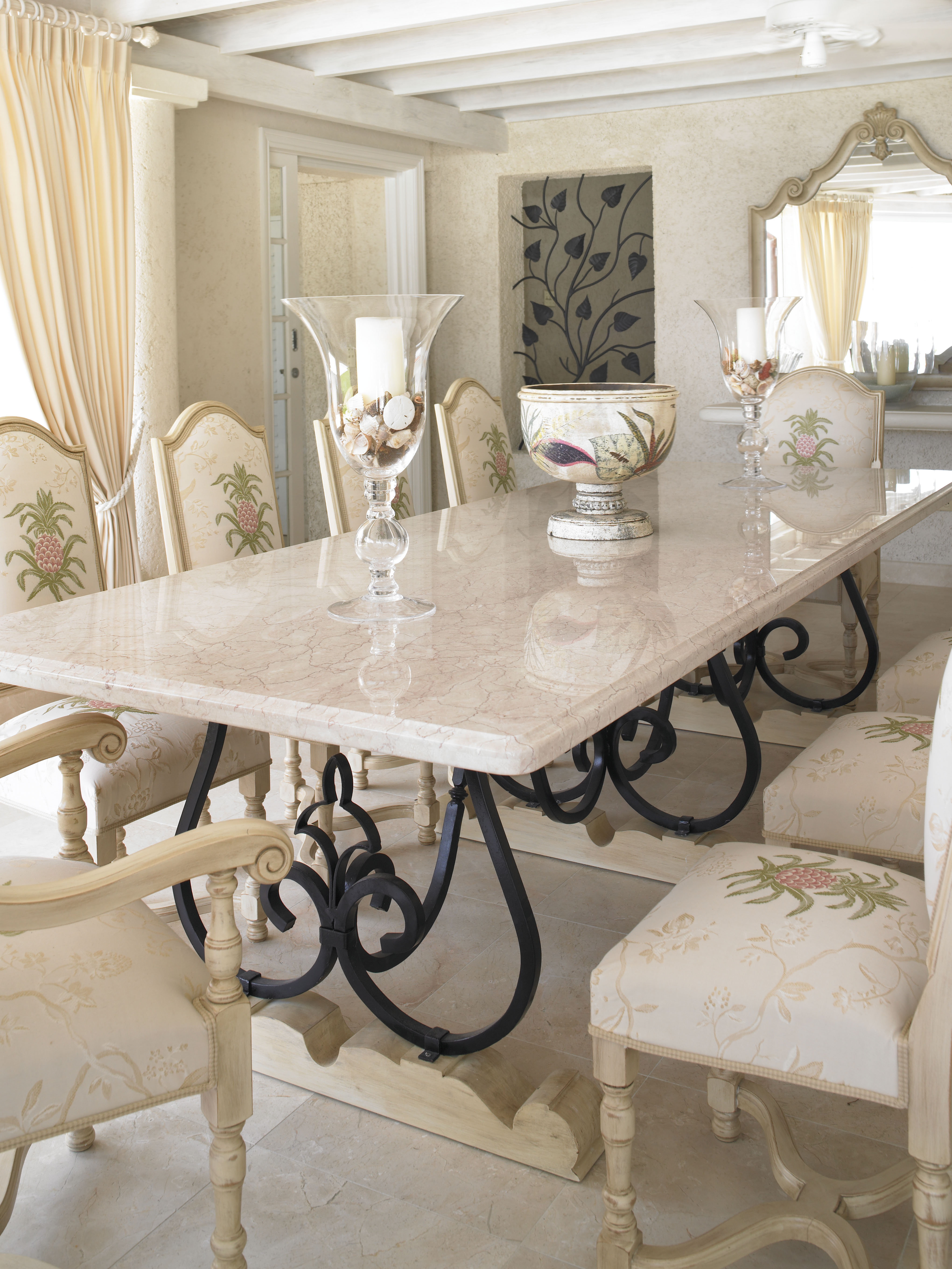 Wrought Iron Dining Room Table Base - Moncler-Factory-Outlets.com