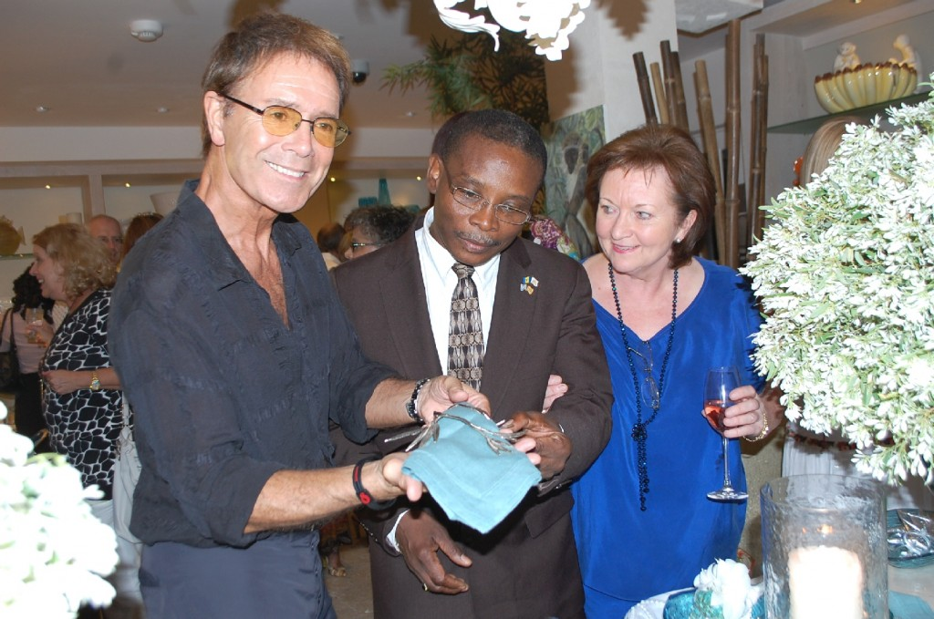 The Barbados showroom opens to great excitement 13