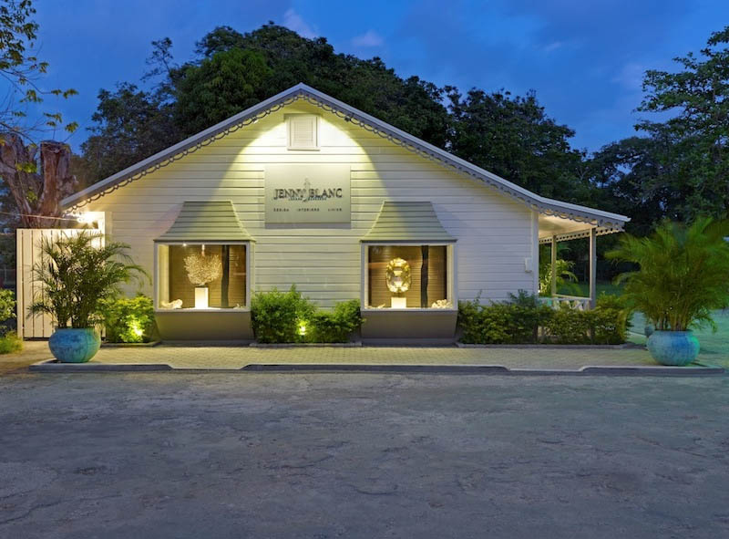 Jenny Blanc Blog - Barbados Showroom