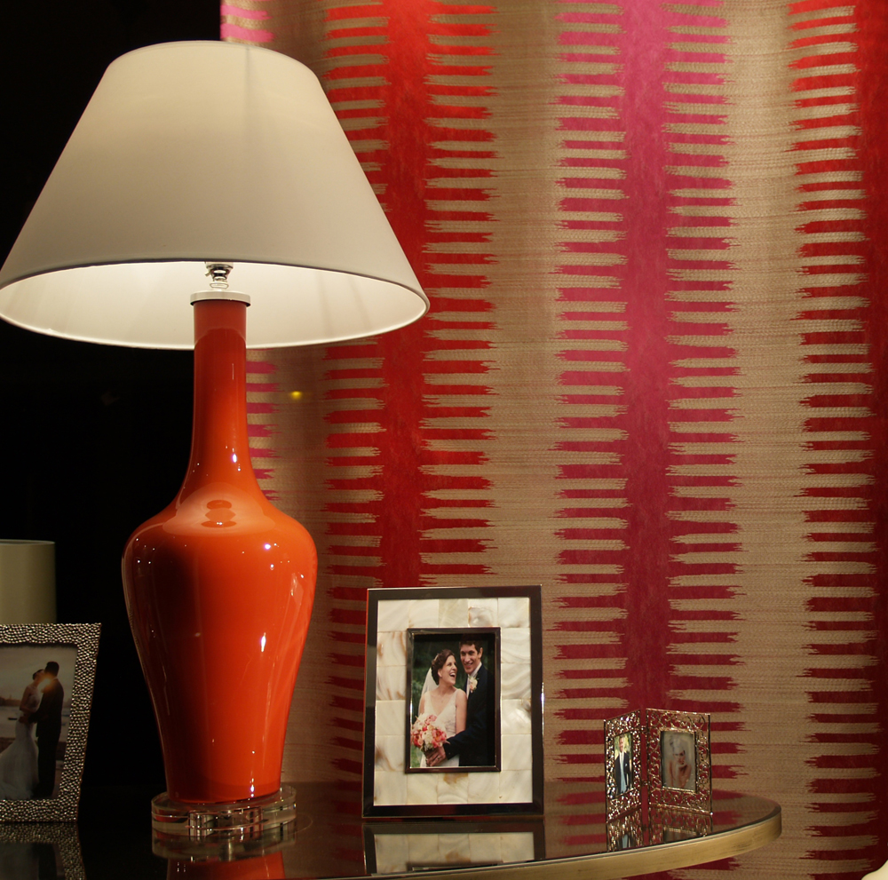 Table lamp £395.00  - Heart double frame £59.95