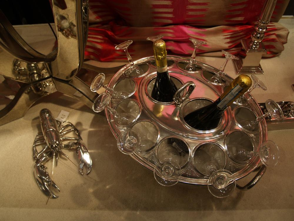 Champagne cooler £1,495.00  -  Salt & pepper lobster £450.00