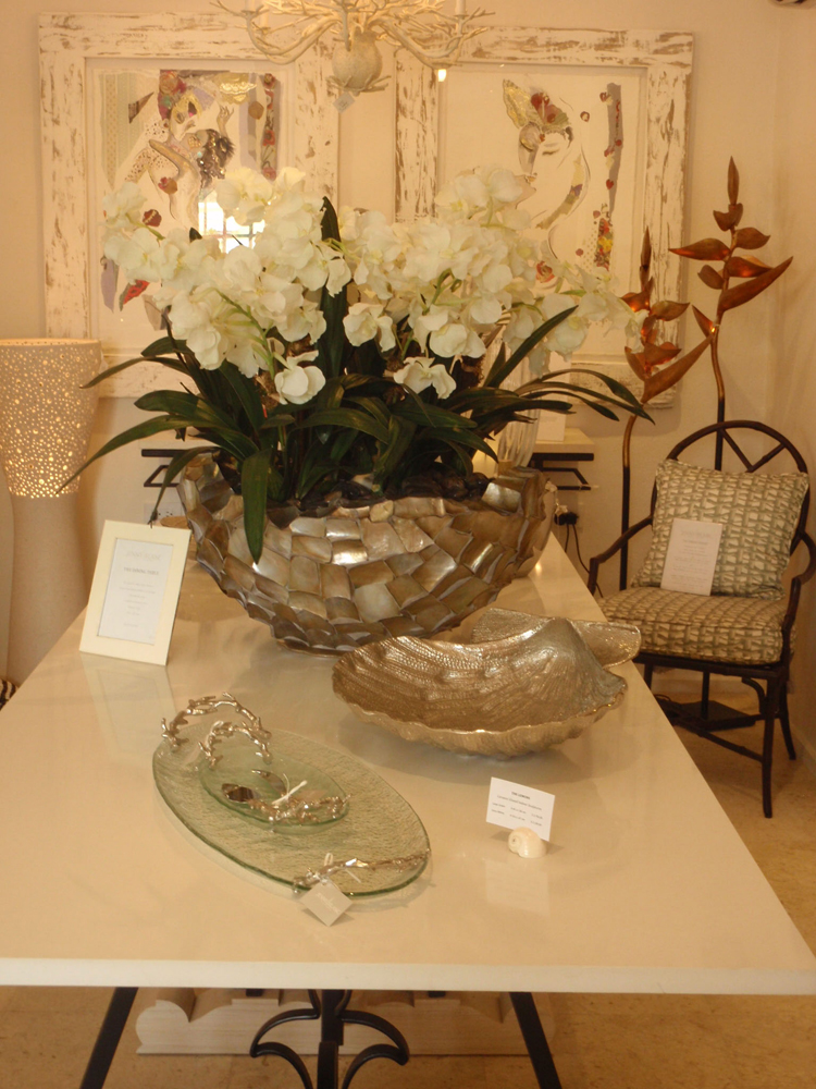 Displays in the Barbados Showroom