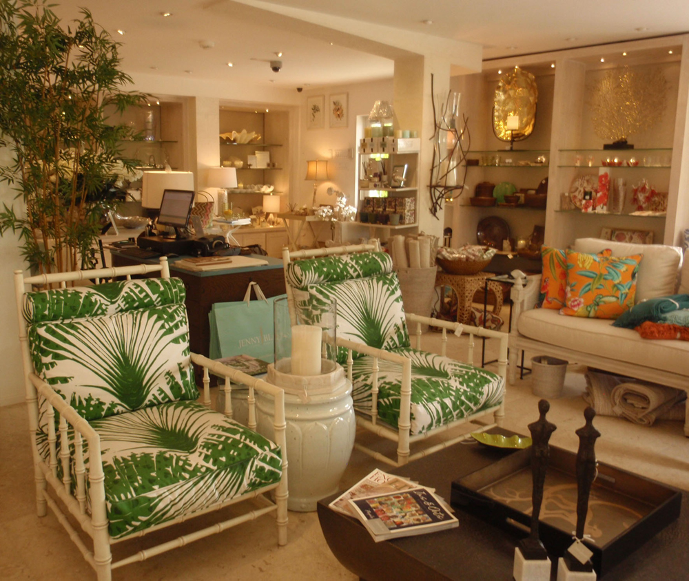 Displays in the Barbados Showroom