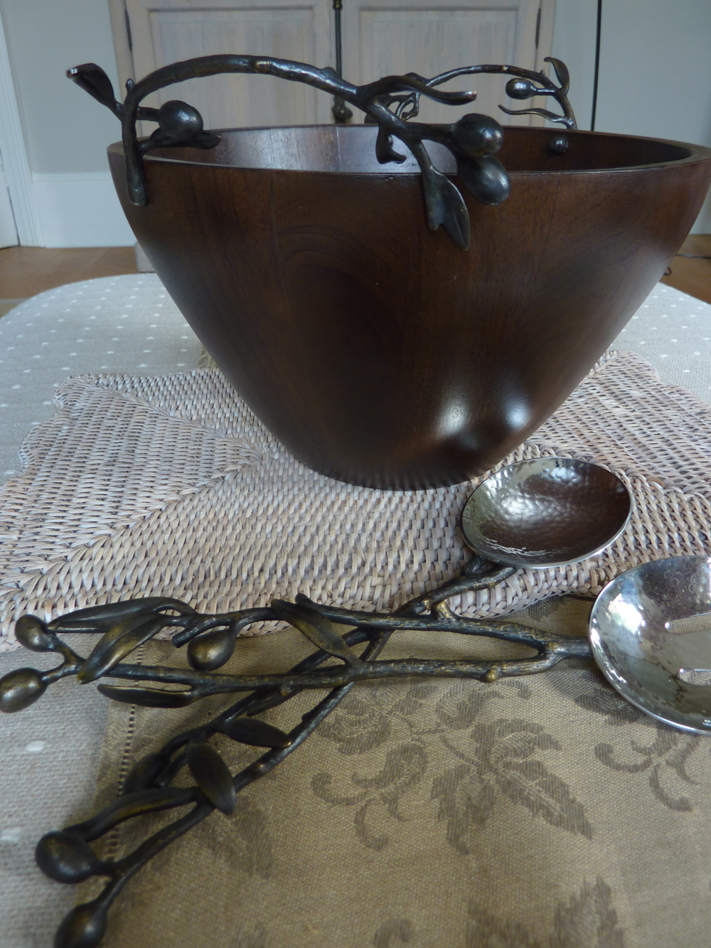 Olive Branch Classic Wood Bowl, £275