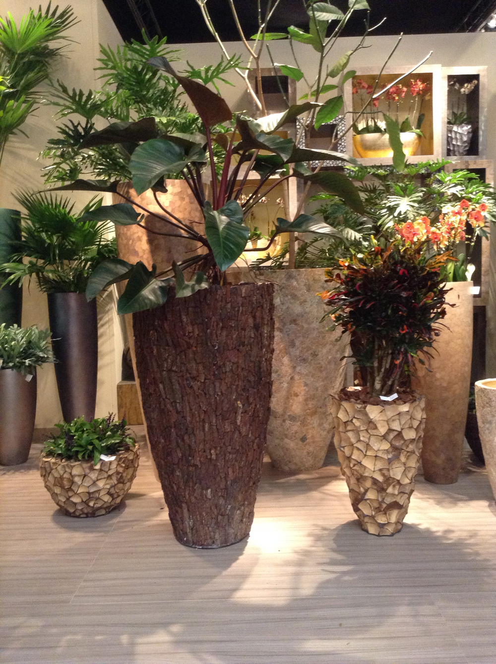 interior and exterior planters
