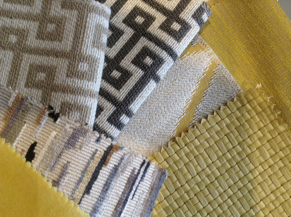 New fabrics from the latest collections by Thibaut, Harlequin and Robert Allen