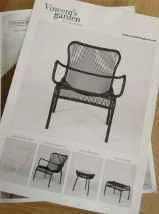 The new Loop lounge chair in white will be on its way to Barbados soon