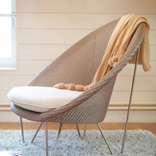 A contemporary take on Lloyd loom with the Joe Cocoon