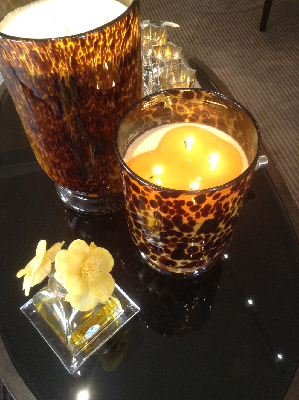 New ideas on accessorising are always arriving. These fabulous candles just in from Australia take some beating