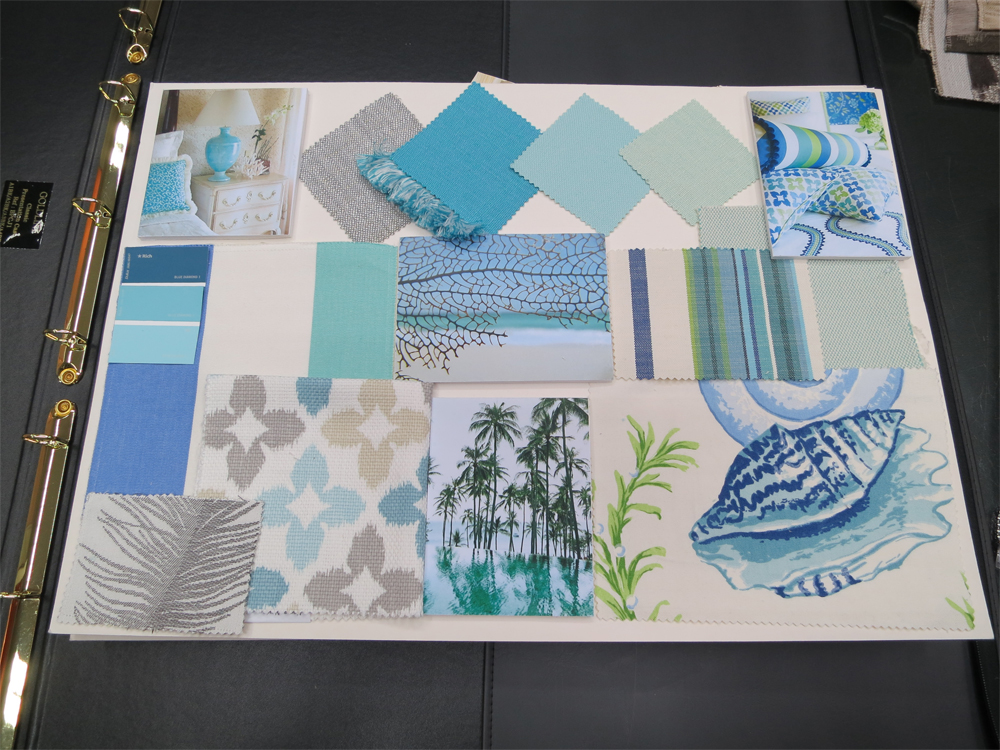 One of the mood boards I have created during my scholarship in London