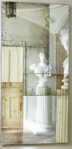Magic of Mirrors Contemporary Distressed