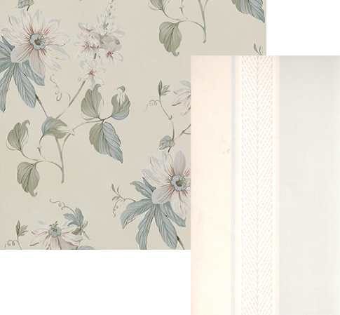 jenny blanc writes wallpaper passiflora roscoe blue