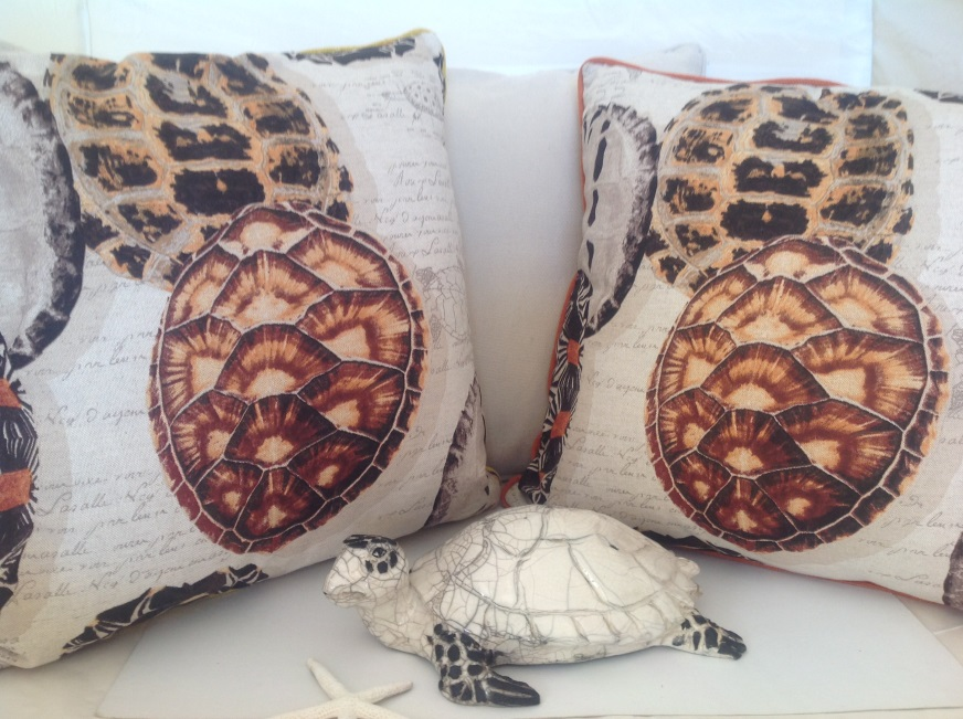 Sea Turtle Cushions