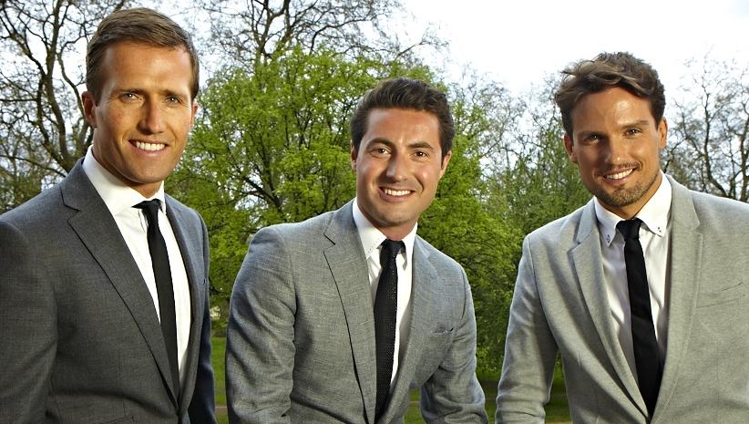 Holders Season Singing Trio Blake