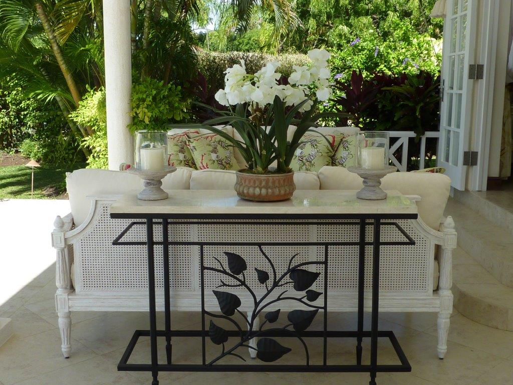 Just Rooms Caribbean Poolside Lounging Table