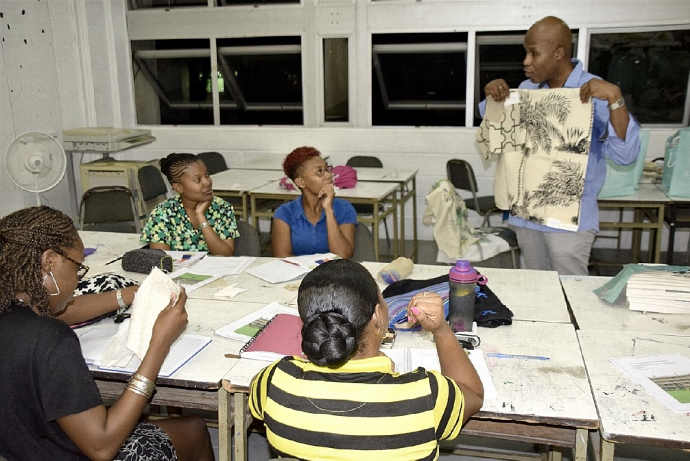 Tyra Returns Barbados Community College Tutor
