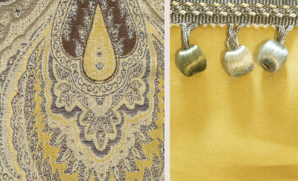 Precious Metals - Cushion Fabric