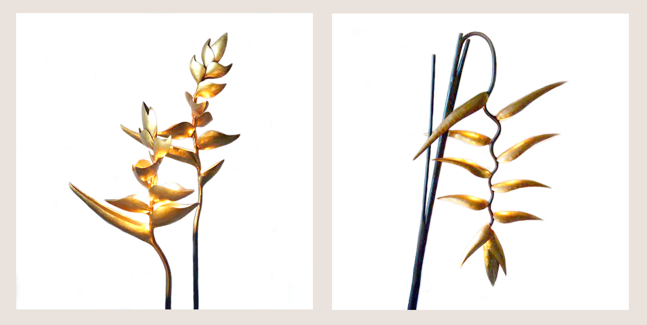 Jenny Blanc Blog - Exotic Bird of Paradise Lamps