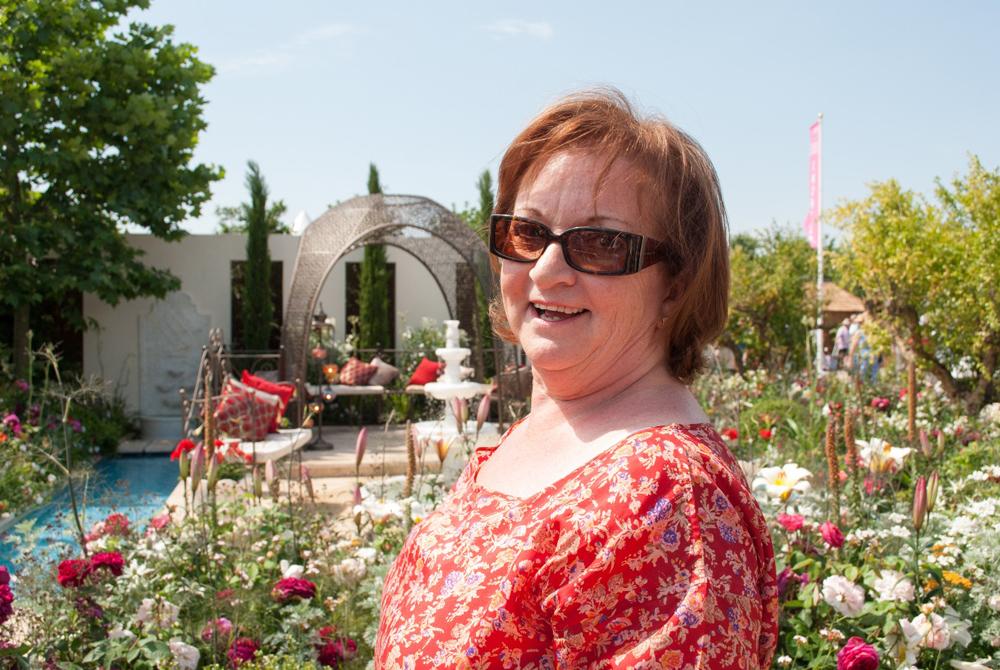 Jenny Blanc Blog - Jenny in the Garden of Paradise