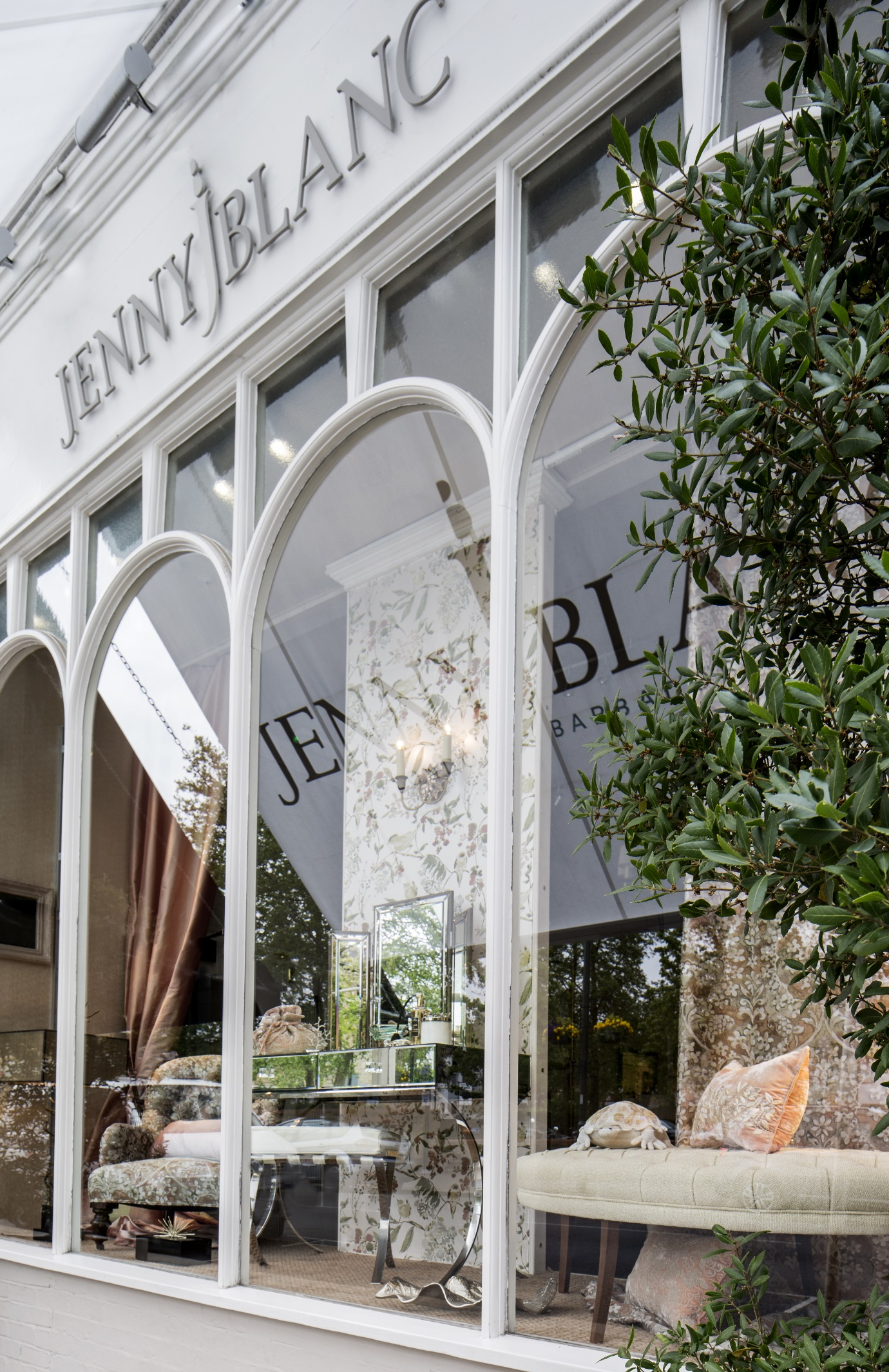 Jenny Blanc's Beautiful Storefront Teddington