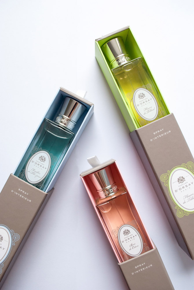Jenny Blanc Blog - Room Sprays with Presentation Boxes