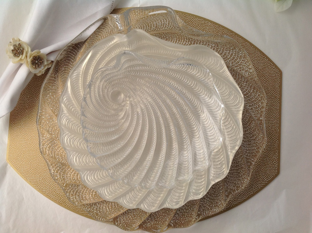 Jenny Blanc Blog - Ellipse Shaped Table Mats