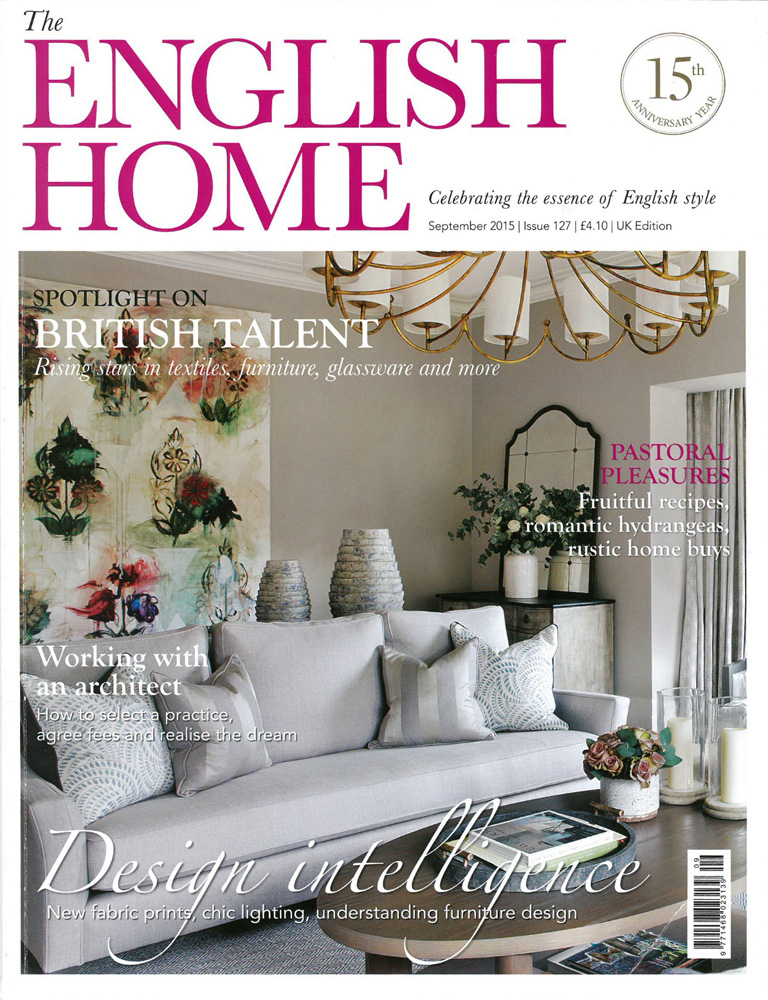 Jenny Blanc Blog - English Home Magazine