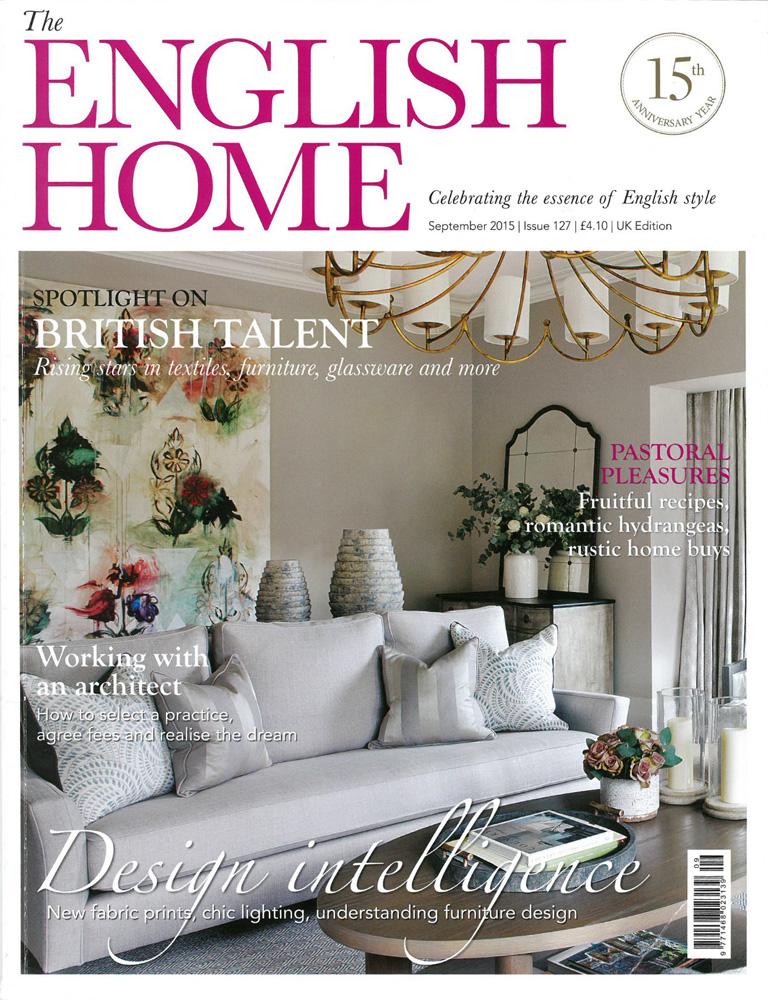 Jenny Blanc Blog - English Home Magazine