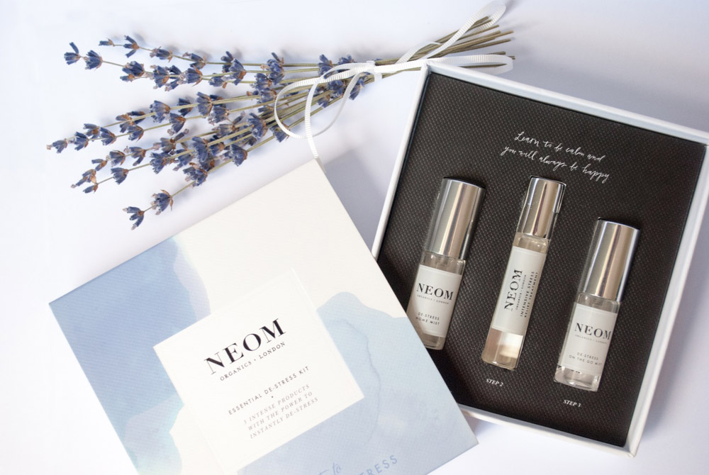 Jenny Blanc Blog - Essential De-stress Kit by Neom Organics
