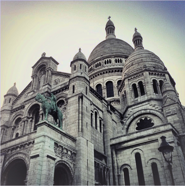Jenny Blanc Blog - The Basilica of Sacre Coeur