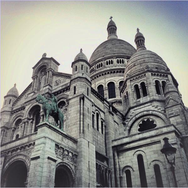 Jenny Blanc Blog - The Basilica of Sacre Coeur