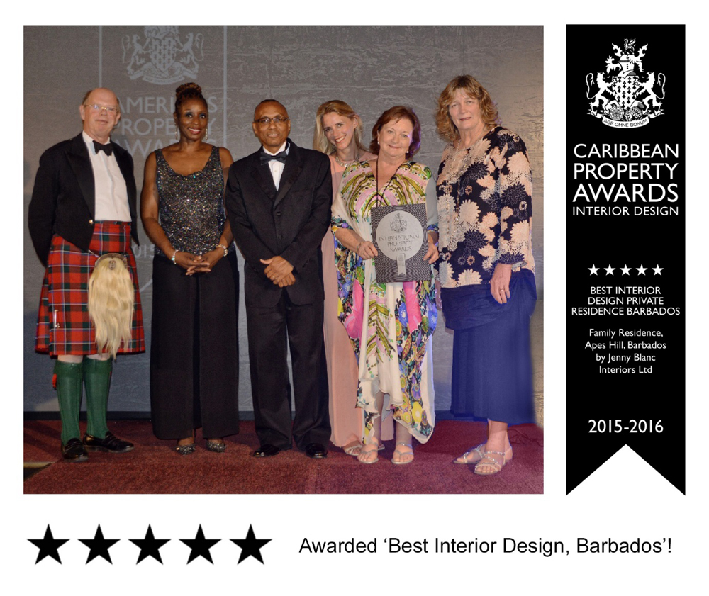 Jenny Blanc Blog - Five Star Best Interior Design Barbados