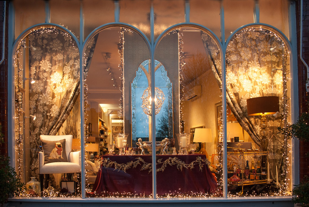 Jenny Blanc Blog - London Showroom Christmas Window 2015