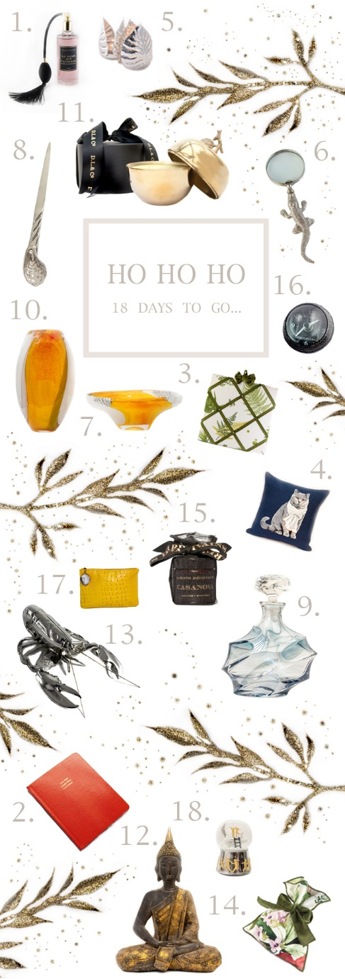 Jenny Blanc Blog - Countdown to Christmas Gift Ideas
