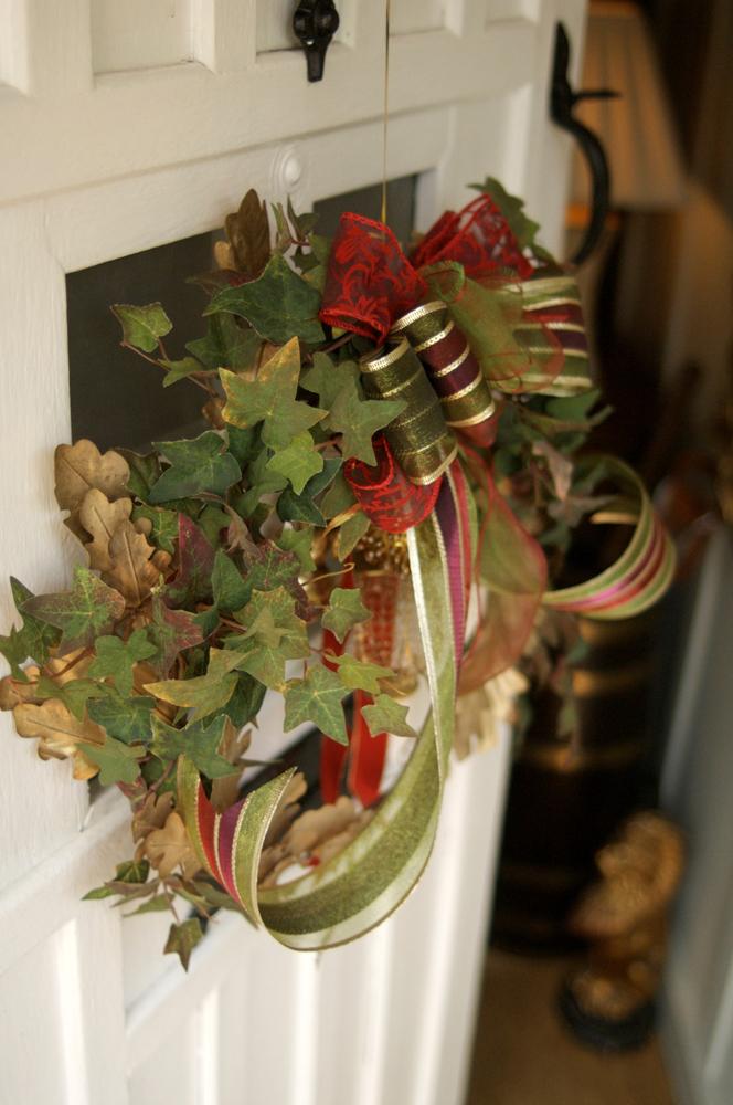 Jenny Blanc Blog - Handmade Wreath