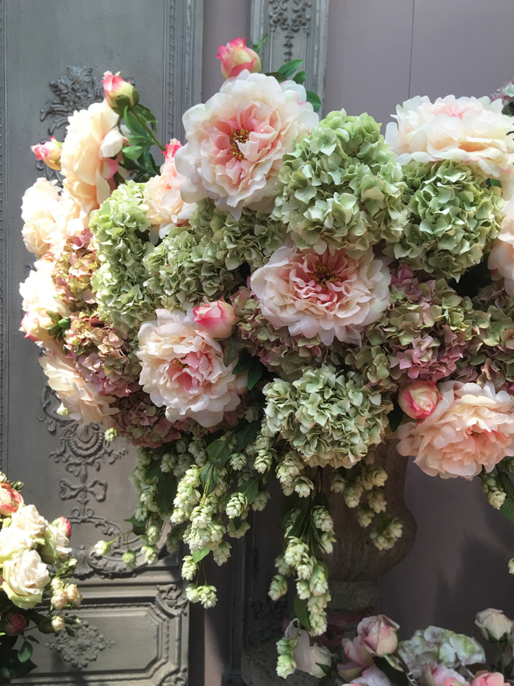 Jenny Blanc Blog - Floral Display from Top Drawer Exhibition