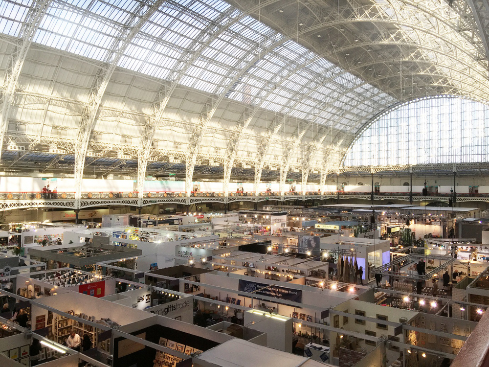 Jenny Blanc Blog - The Main Hall at Kensington Olympia Top Drawer Exhibition