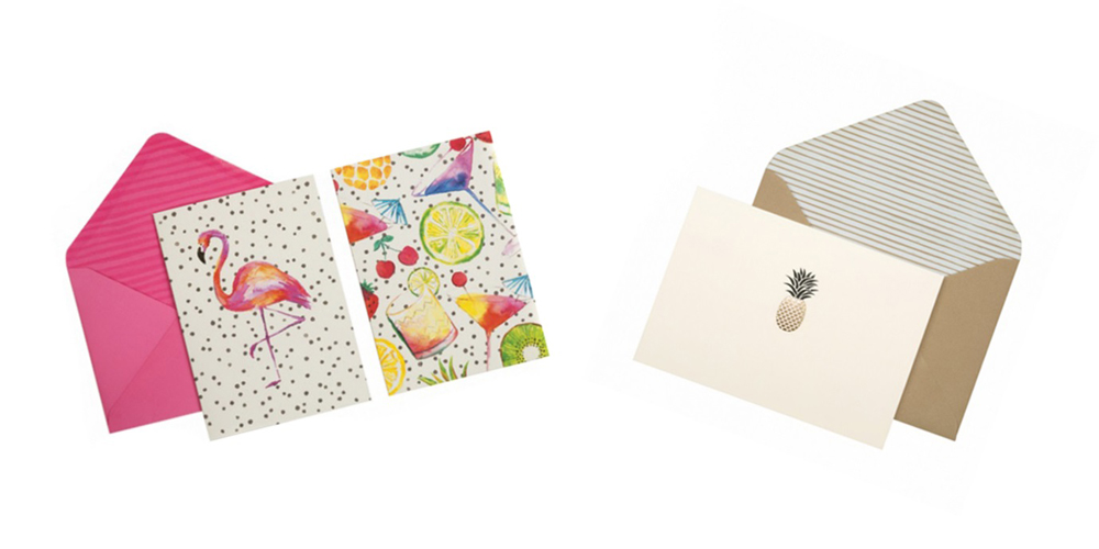 Jenny Blanc Blog - Tropical Note Cards