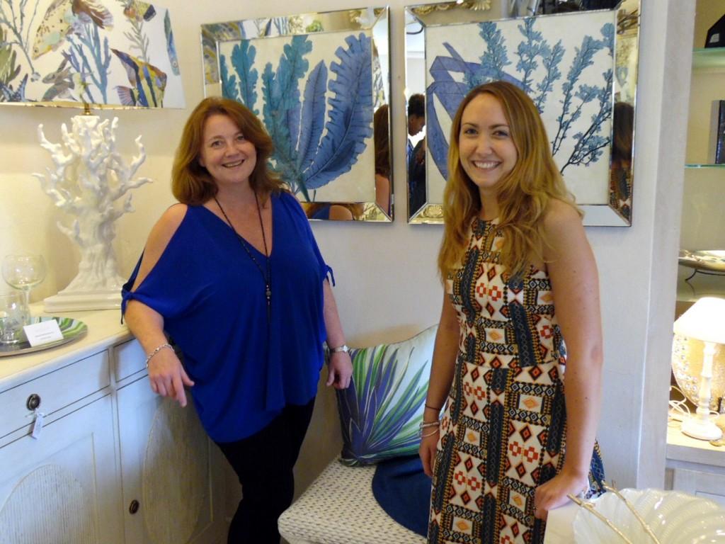 Jenny Blanc Blog - Caribbean Director Emma Blanc and Sian Davies