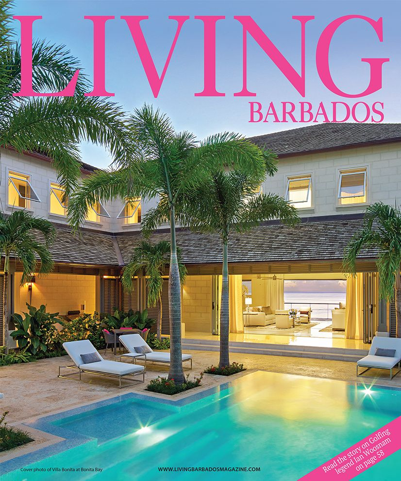 Jenny Blanc Blog - Living Barbados Magazine Feature