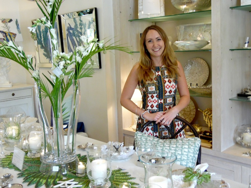 Jenny Banc Blog - Sian Davies Visits Our Barbados Showroom