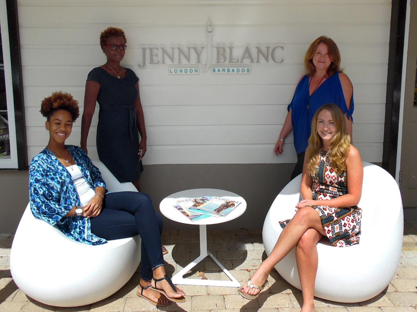 JennyBlncBlog - Tyra Yolanda Caribbean Director Emma Blanc and Sian Davies