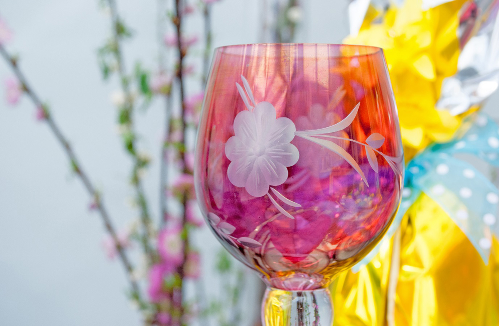 Jenny Blanc Blog - Antique Cranberry Glassware