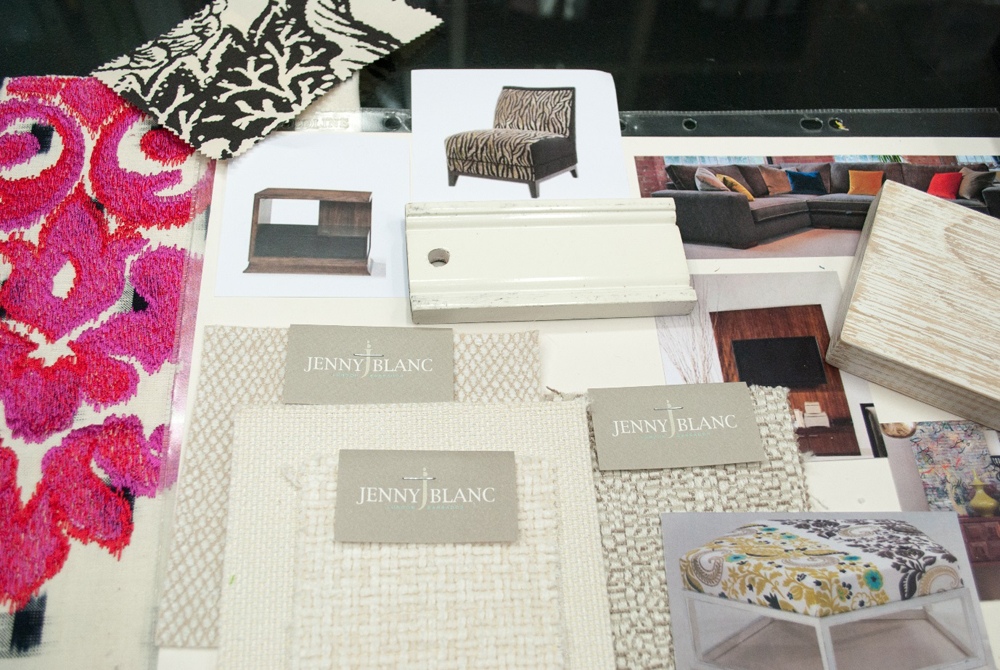 Jenny Blanc Blog - Elements of Media Room Scheme