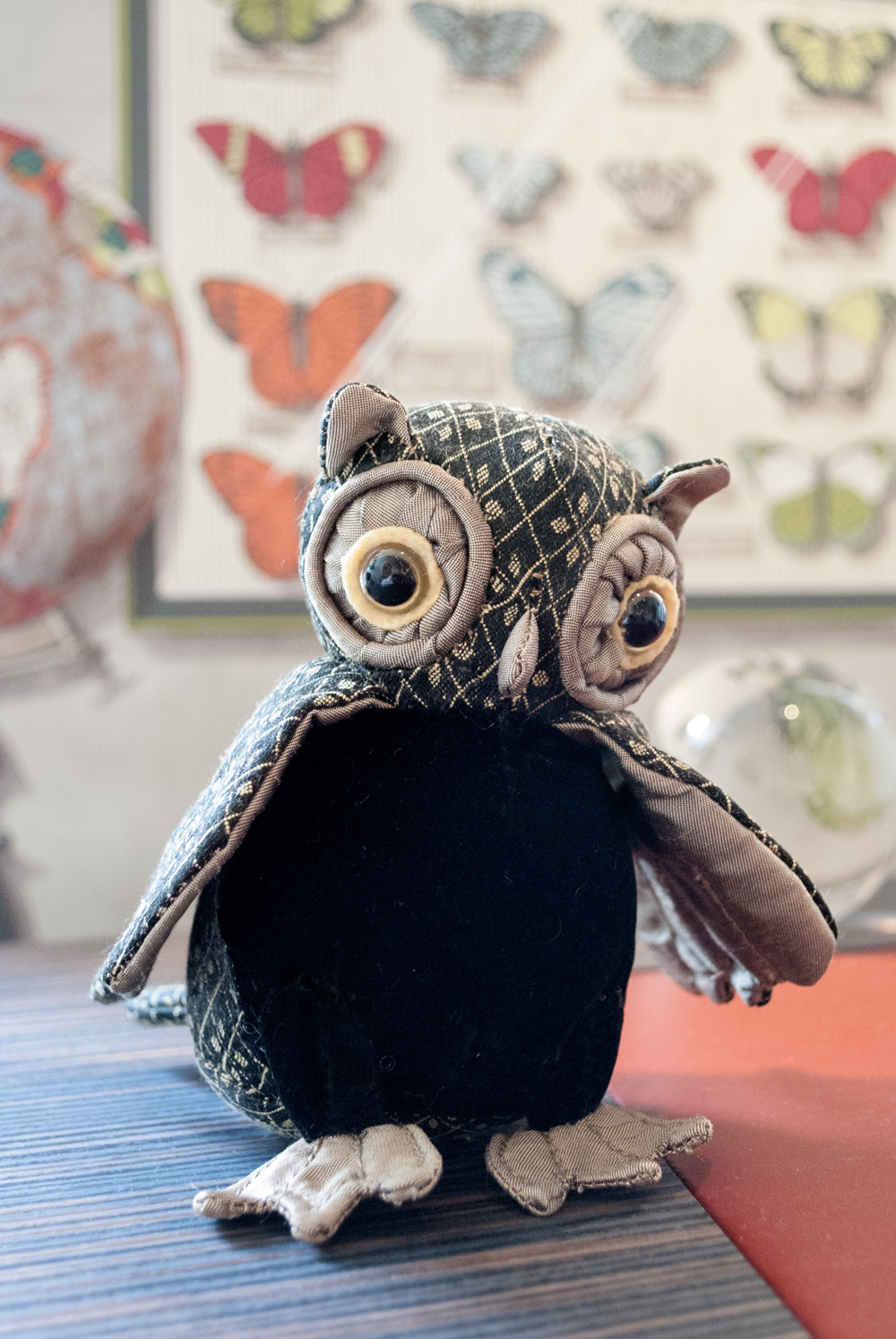 Jenny Blanc Blog - New Arrivals Owl Paperweight