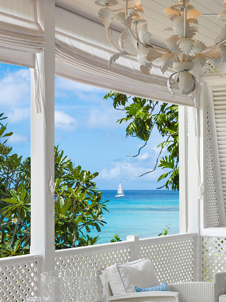 Jenny Blanc Blog - View From Balcony of Recent Project in Barbados