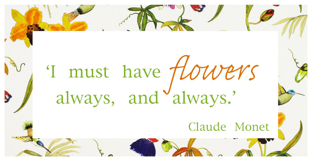 Jenny Blanc Blog - A Claude Monet Quote