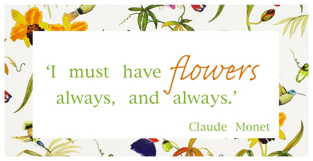 Jenny Blanc Blog - A Claude Monet Quote