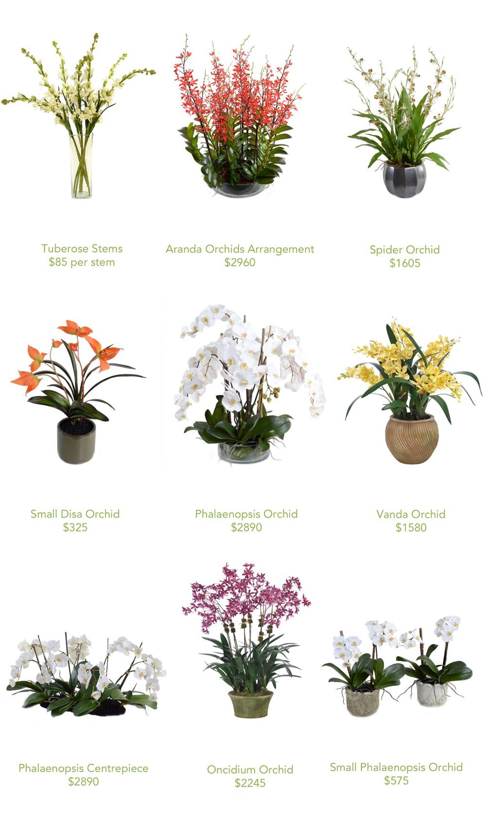 Jenny Blanc Blog - Selection of Flower Arrangements